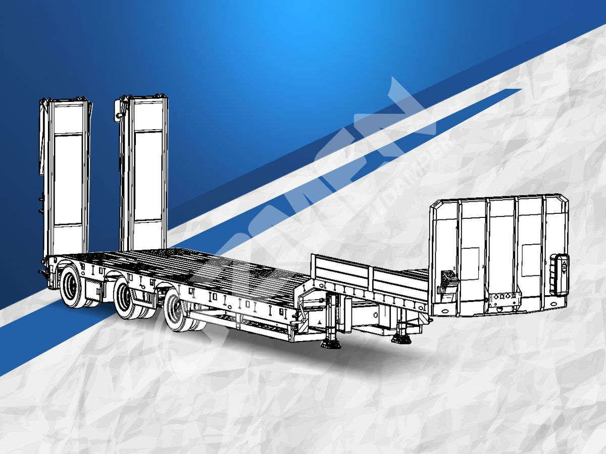 LOWBED - LOW LOADER SEMI TRAILERS